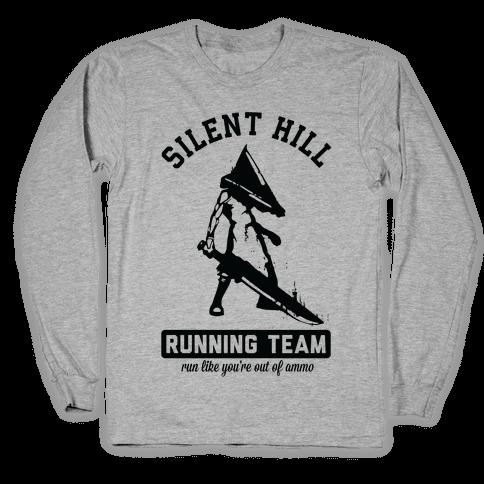 Silent Hill Running Team Long Sleeve T-Shirt