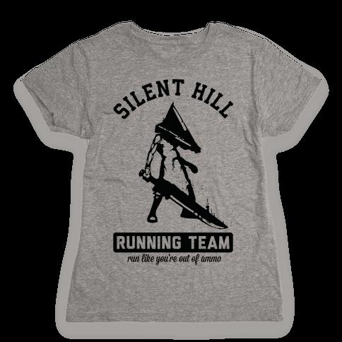 Silent Hill Running Team Womens T-Shirt