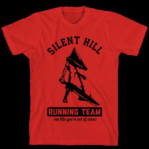 Silent Hill Running Team Mens T-Shirt