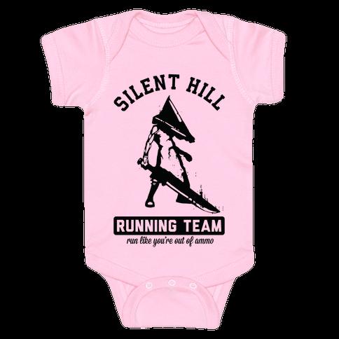 Silent Hill Running Team Baby Onesy