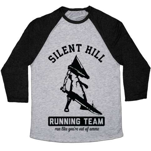 Silent Hill Running Team Baseball Tee
