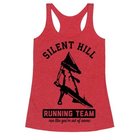 Silent Hill Running Team Racerback Tank Top