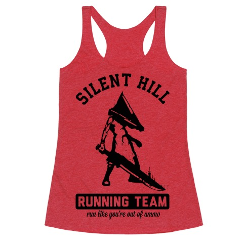 Silent Hill Running Team Racerback Tank Top