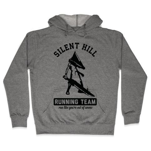 Silent Hill Running Team Hooded Sweatshirt