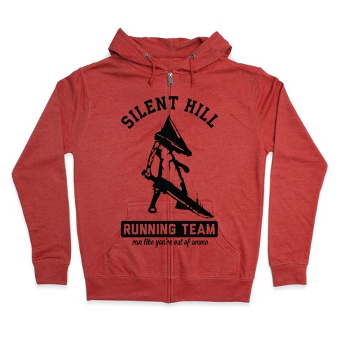 Silent Hill Running Team Zip Hoodie