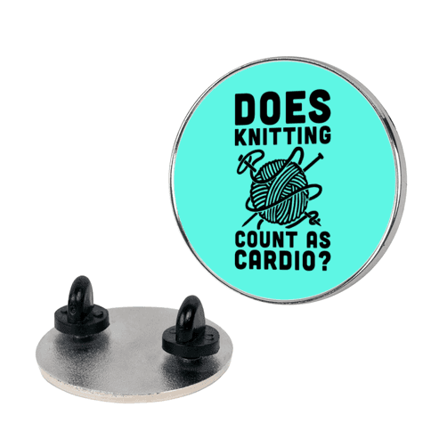 Does Knitting Count as Cardio? pin