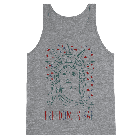 Freedom Is Bae Tank Top