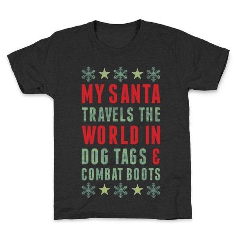 My Military Santa Kids T-Shirt