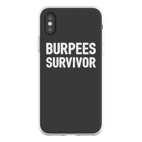 Burpees Survivor Phone Flexi-Case