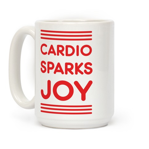 Cardio Sparks Joy Coffee Mug