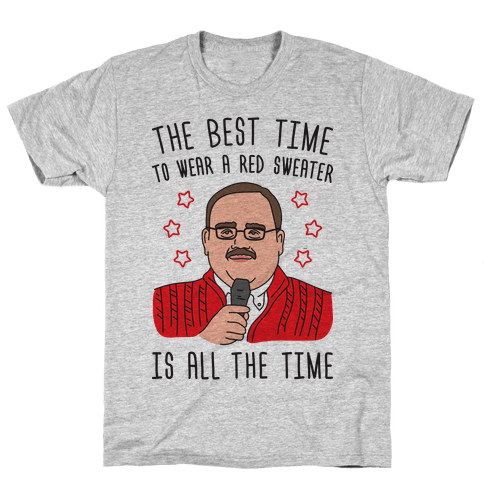 Ken Bone Red Sweater Mens T-Shirt