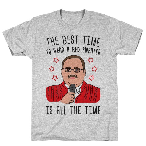 Ken Bone Red Sweater T-Shirt