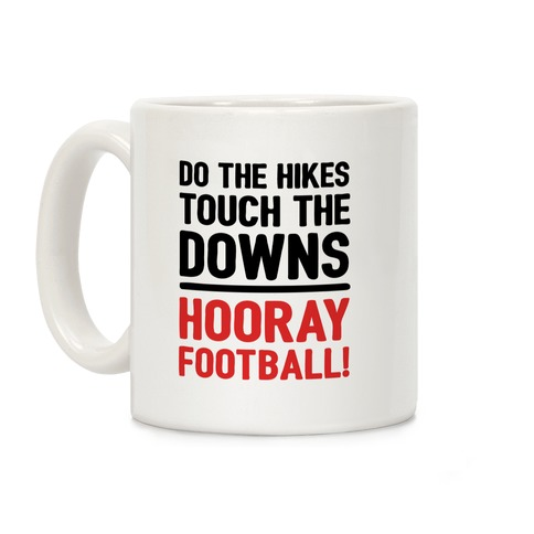 Hooray Football Coffee Mug