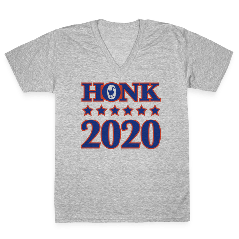 Honk 2020 V-Neck Tee Shirt