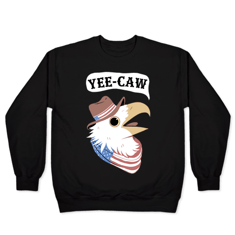 YEE-CAW American Bald Eagle Pullover