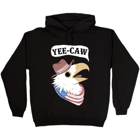 YEE-CAW American Bald Eagle Hooded Sweatshirt