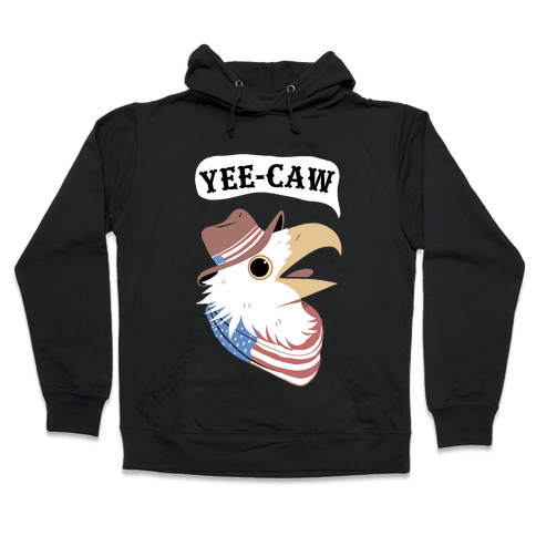 YEE-CAW American Bald Eagle Hooded Sweatshirt