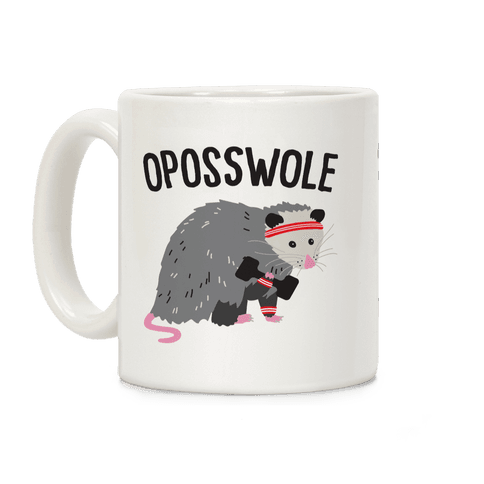 Oposswole Opossum Coffee Mug