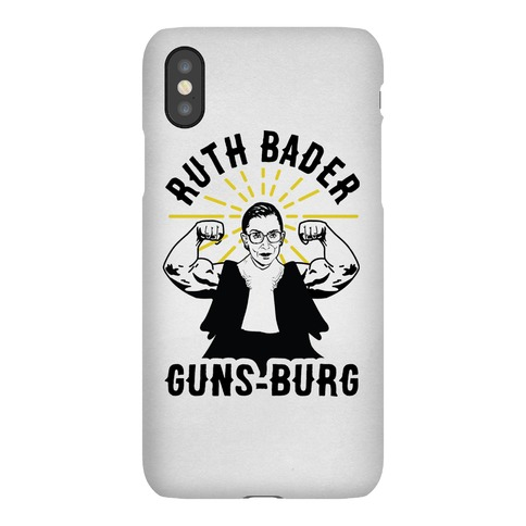 Ruth Bader Guns-Burg Phone Case