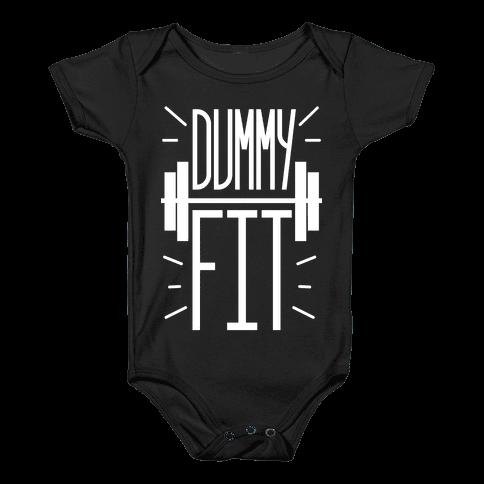 Dummy Fit Baby Onesy