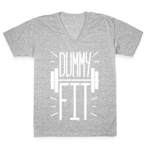 Dummy Fit V-Neck Tee Shirt