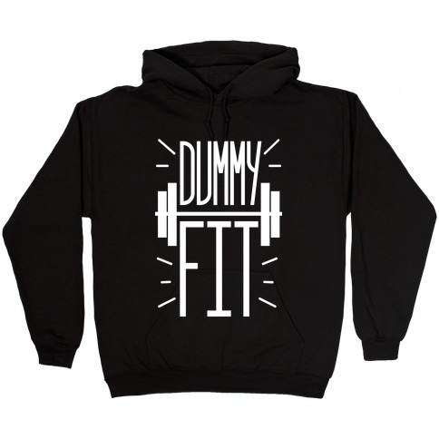 Dummy Fit Hooded Sweatshirt