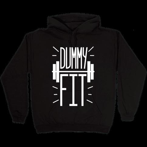 Dummy Fit Hooded Sweatshirt