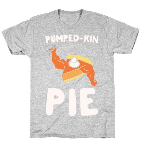Pumped-kin Pie White Print T-Shirt
