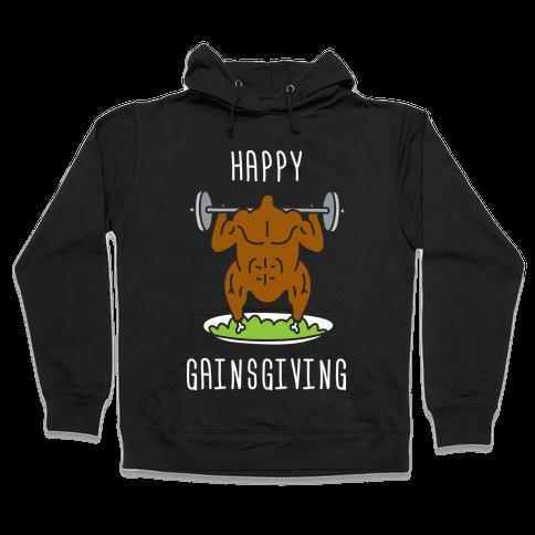 Happy Gainsgiving Hooded Sweatshirt