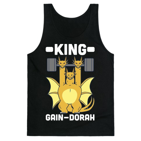 King Gain-dorah - King Ghidorah Tank Top
