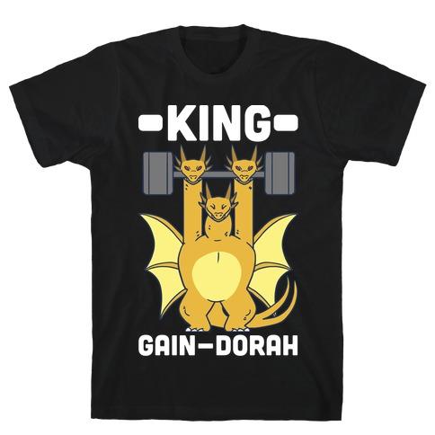 King Gain-dorah - King Ghidorah T-Shirt