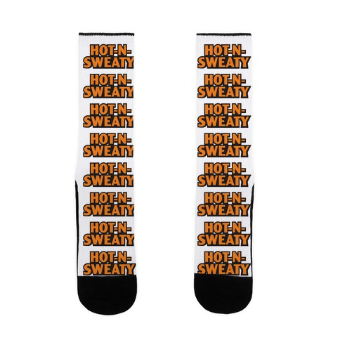 Hot-N-Sweaty Parody Sock