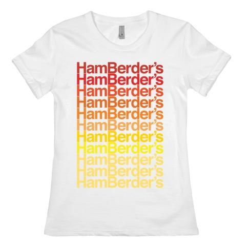 Hamberder's Parody Womens T-Shirt