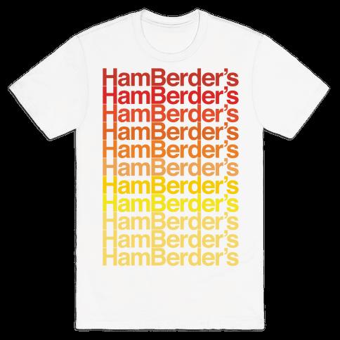 Hamberder's Parody Mens/Unisex T-Shirt