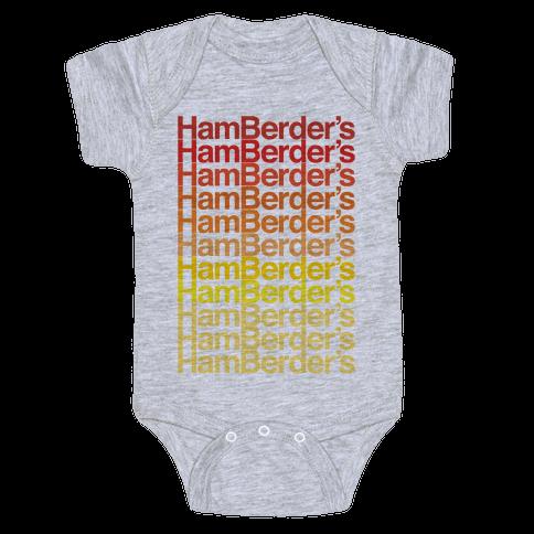 Hamberder's Parody Baby Onesy