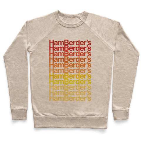 Hamberder's Parody Pullover