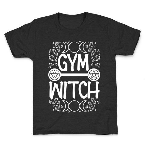 Gym Witch Kids T-Shirt