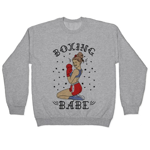 Boxing Babe Pullover