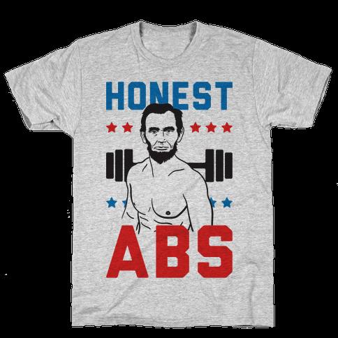 Honest Abs Mens T-Shirt