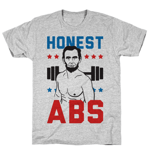 Honest Abs Mens T-Shirt