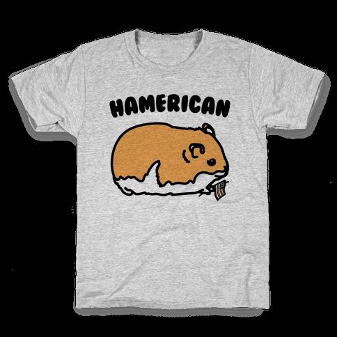 Hamerican Parody Kids T-Shirt