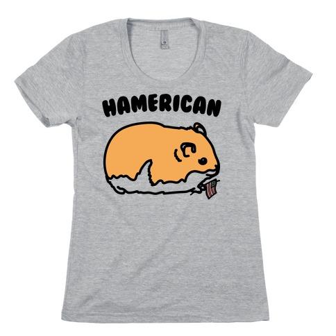 Hamerican Parody Womens T-Shirt