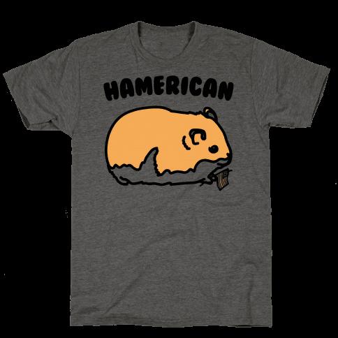 Hamerican Parody Mens/Unisex T-Shirt
