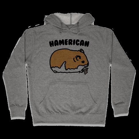 Hamerican Parody Hooded Sweatshirt