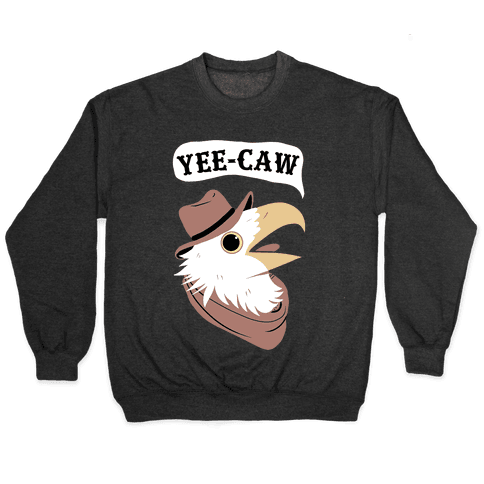 YEE-CAW Bald Eagle Pullover