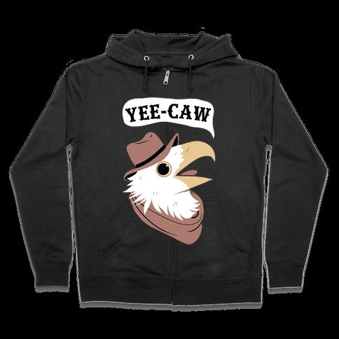 YEE-CAW Bald Eagle Zip Hoodie