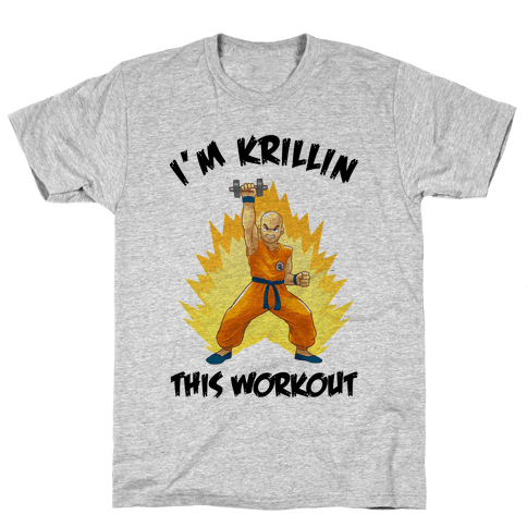 I'm Krillin This Workout Mens T-Shirt