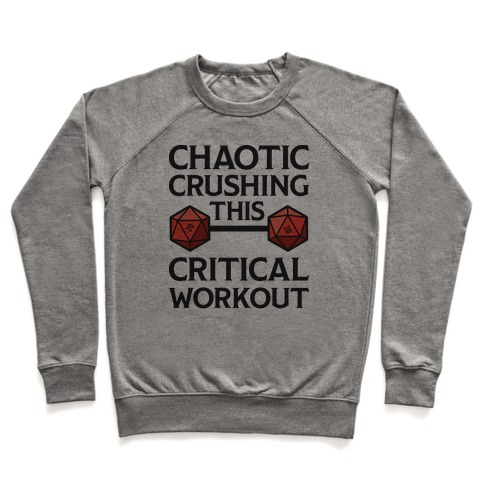 Chaotic Crushing This Critical Workout Pullover