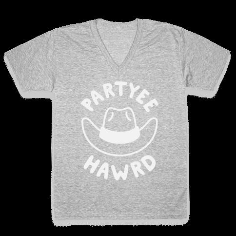 Partyee Hawrd V-Neck Tee Shirt