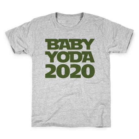 Baby Yoda 2020 Parody Kids T-Shirt